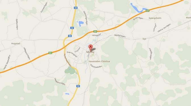 Mjölby är en tätort i Östergötland samt centralort i Mjölby kommun,.